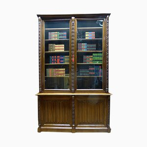 Antique Important Gothic Library