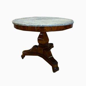 Antique Restoration Period Pedestal Table