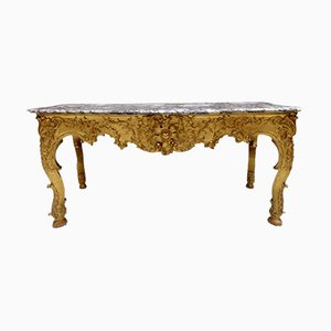 Table Console Louis XV Antique