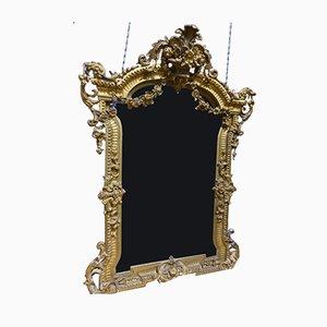 Antiker Chateau Spiegel
