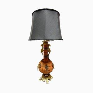 Antike Porzellan Lampe