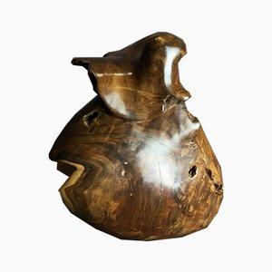 Antike Holzskulptur Couradin