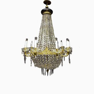 Grand Lustre Empire Antique