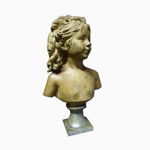 Antike Skulptur aus Terrakotta