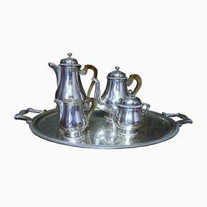 Antikes Kaffee- und Teeservice von Christofle