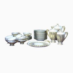 Antikes Limoges Tee- und Dessert Service aus Porzellan
