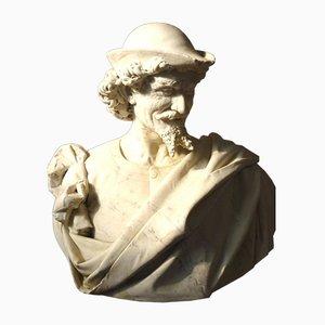 Antike Skulptur aus Marmor von Benvenuti