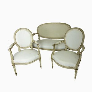 Louis XVI Style Salon Chair