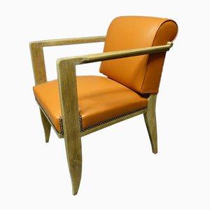 Antiker Schreibtisch Armlehnstuhl von Chaleyssin
