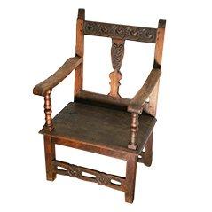 Antiker Lehnstuhl aus Holz
