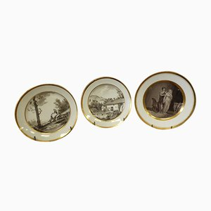 Antique Plates, Set of 3