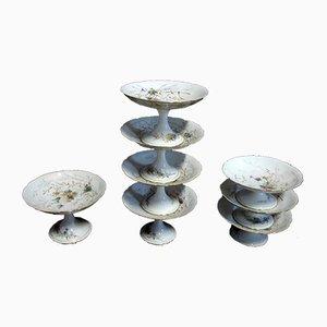 Porcelain Compotes, Set of 8