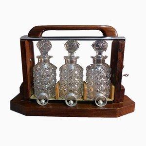 Antiker Baccarat Whiskey Keller