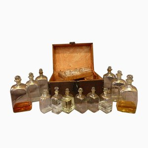 Large Antique Decanter Box