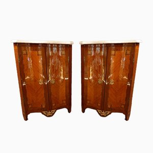 Tables de Chevet Louis XV, Set de 2