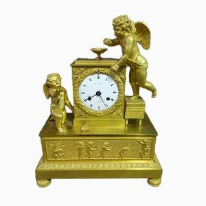 Antique Gilt Bronze Pendulum Clock