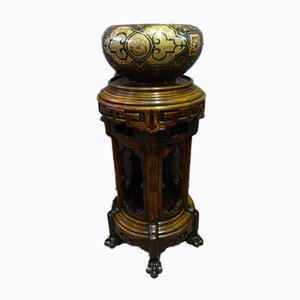 Antique Napoleon III Asian stand