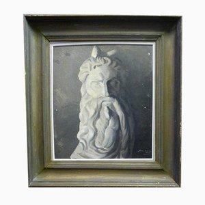 Antikes Porträt von Moses nach Michelangelo