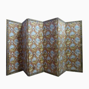 Antique Six-Leaf Folding Screen