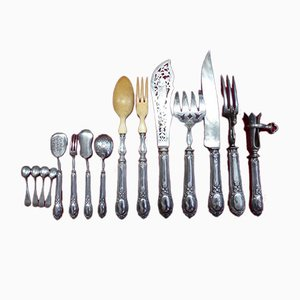Service Antique en Argent, Set de 15