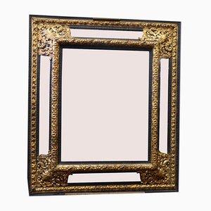 Miroir à Coupe Fermée Style Louis XIII Antique