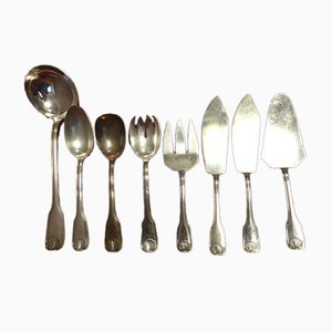 Antique Cutlery by François Frionnet, Set of 161