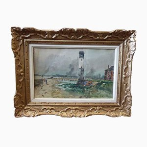Marine Watercolor Painting by Lavoine