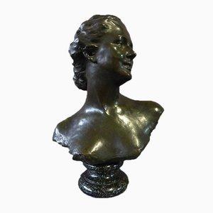 Bronze Skulptur Signiert Noémie Debienne (XIX-XX)