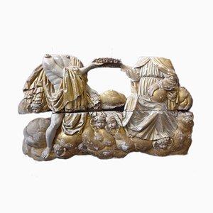 Importante Skulptur En Bois Doré XVIIIème