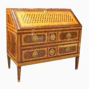 Louis XVI Inlaid Slope Desk