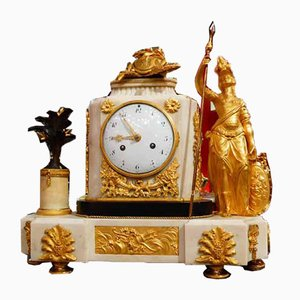 Louis XVI A La Minerve Clock