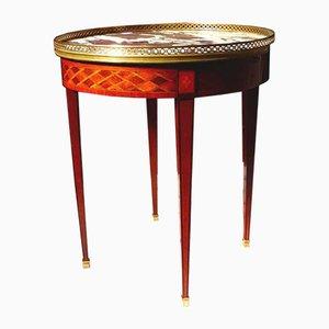 Antiker Louis XVI Stil Bouillotte Tisch