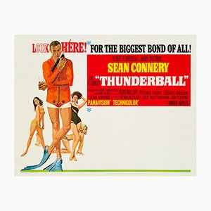 Affiche Thunderball par Robert McGinnis, 1965
