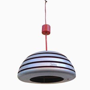 Deckenlampe aus Chrom & Aluminium von Hans-Agne Jakobsson, 1960er