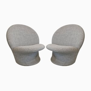 Model F572 Lounge Chairs by Pierre Paulin for Artifort, 1960s, Set of 2