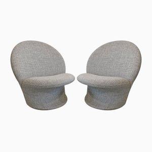 Modell F572 Sessel von Pierre Paulin für Artifort, 1960er, 2er Set
