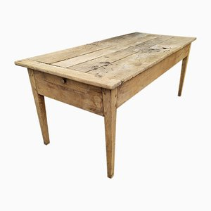 Large Oak Farmhouse Table