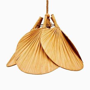 Uchiwa Ceiling Lamp, 1970s
