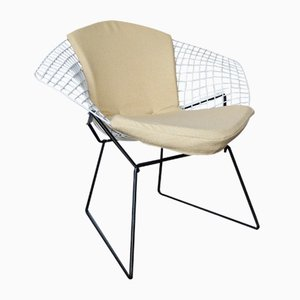 Mid-Century Model 421 Diamond Chair by Harry Bertoia for Knoll Inc. / Knoll International