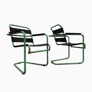Gartenstühle von Hoste Huub, 1930er, 2er Set