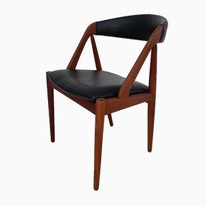 Dänische Esszimmerstühle von Kai Kristiansen, 1960er, 6er Set