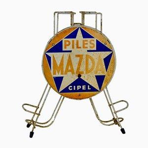 Mazda Battery Display Sign, 1960er