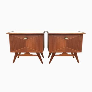 Cabinets, 1950s, Set of 2