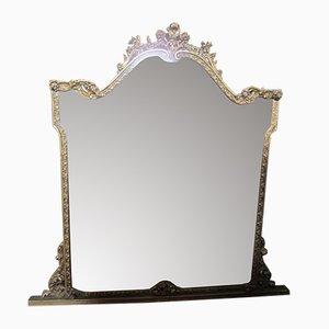 Vintage Plaster Mirror, 1940s