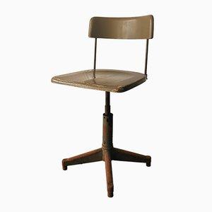 Belgischer Vintage Werkstatt Stuhl von Acior, 1940er
