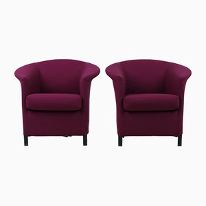 Vintage Austrian Aura Armchairs by Paolo Piva for Wittmann, Set of 2