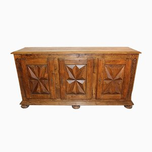 Antique Louis XIII Style Sideboard