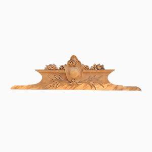 Antike Giebel aus Holz