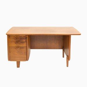 Skandinavischer Mid-Century Eichenholz Schreibtisch von Gunnar Ericsson für Atvidabergs