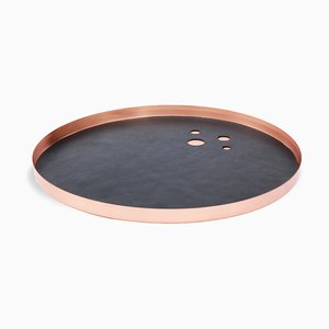 Black & Rose Lunay Tray by Kerem Aris for Uniqka
